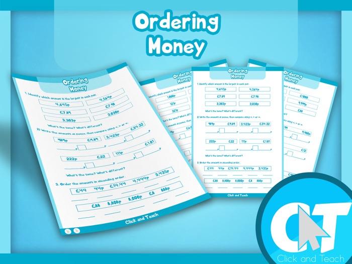 KS2 - Ordering Money