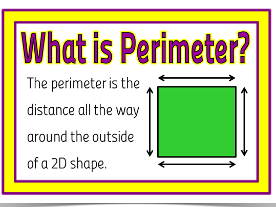 Maths: Understanding and calculating perimeter (3 lessons)