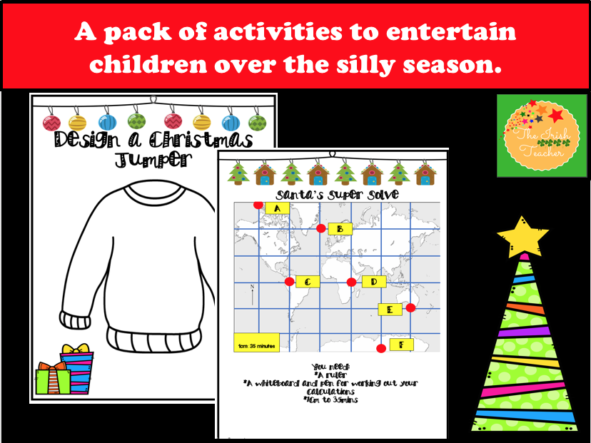 Christmas Activities: Themed Maths