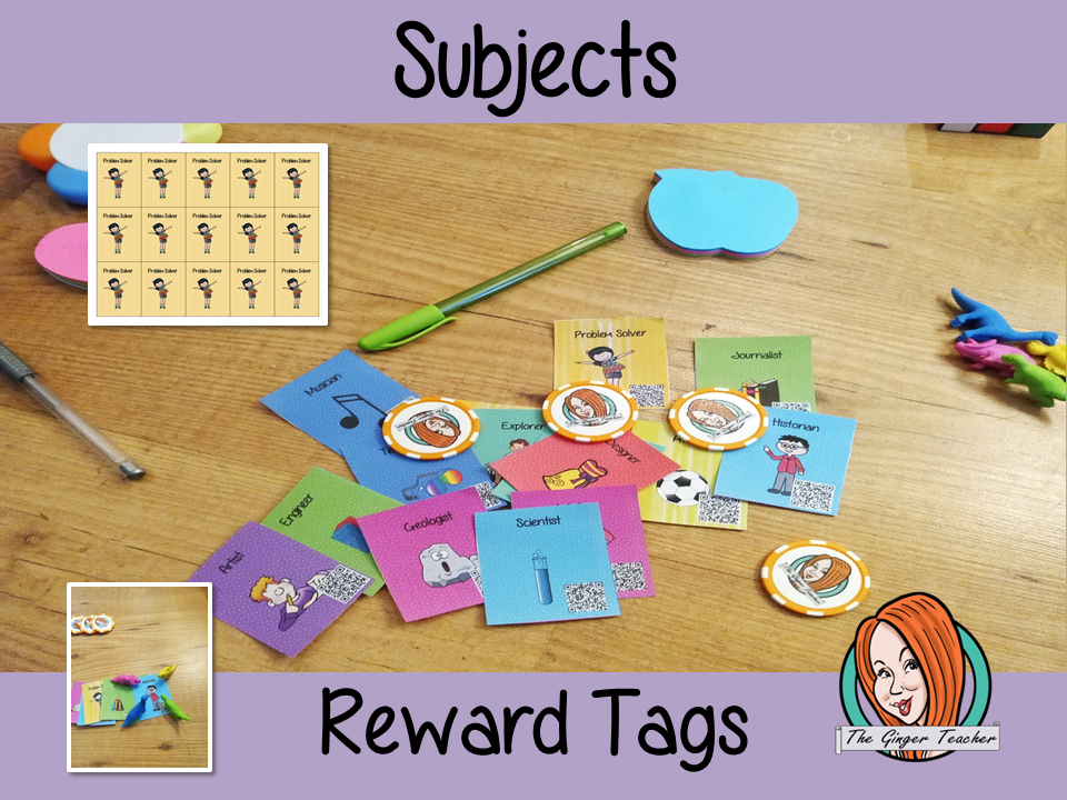 Subjects Reward Tags