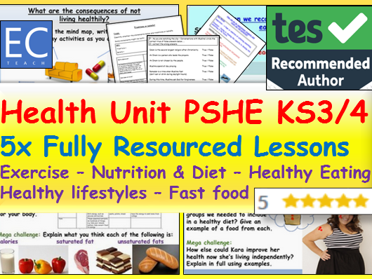 PSHE: Health + Healthy Lifestyles Unit