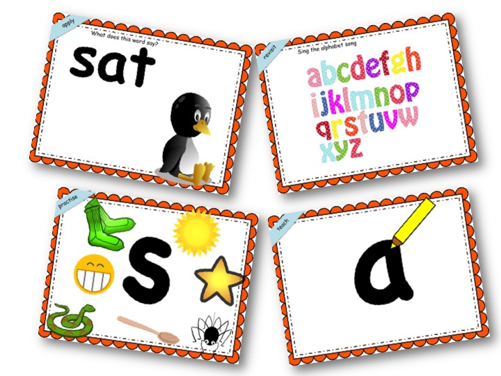 Phonics Powerpoint Phase 2, Week 1 (s,a,t,p)