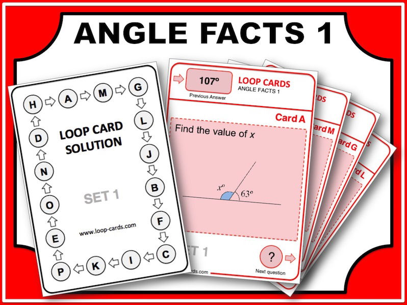 Loop Card Races (Angles Facts 1)