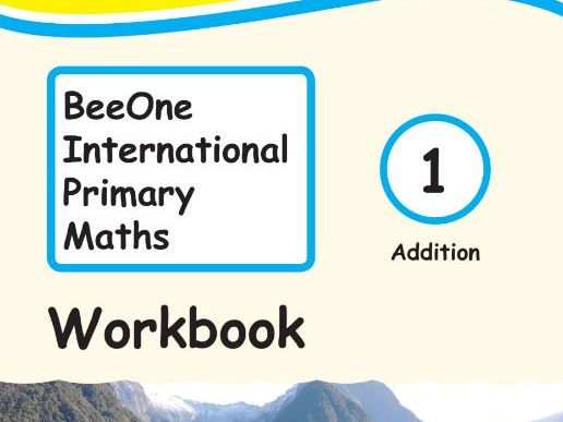 Grade 1 Math Addition Workbook from BeeOne Books