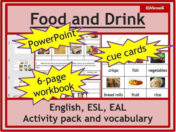 ESL: Food and Drink in English