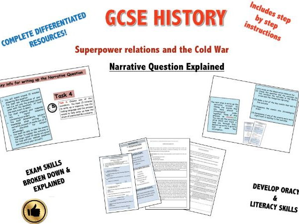 Edexcel Superpower Relations & Cold War. The Narrative Question!