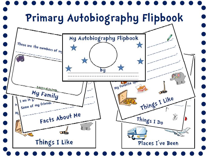 Primary Autobiography Flipbook