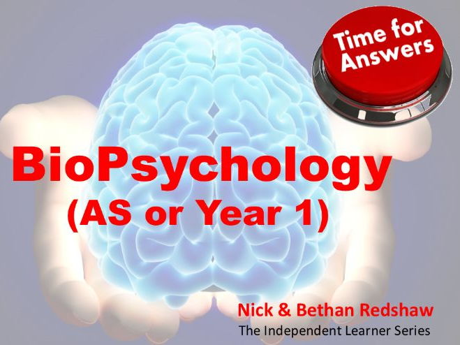 Workbook Answers - Biopsychology (AS or Year 1)
