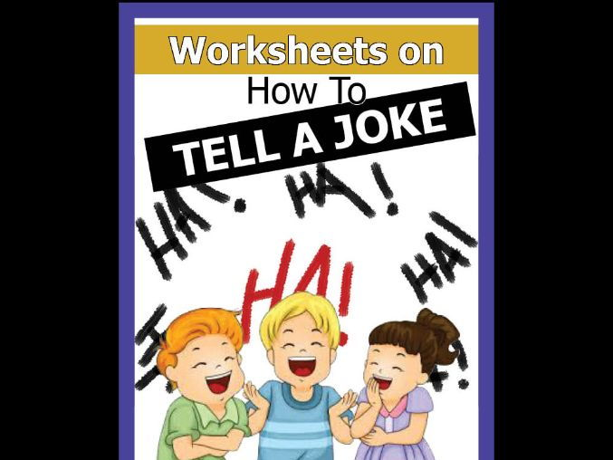 How to Tell a Joke ***NEW***