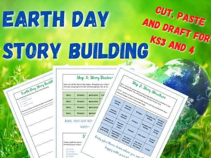 Earth Day | Story Building | Active Learning | KS3 and KS4