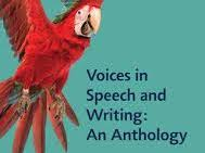 A-Level English Language and Literature Voices Anthology Glossary of terms