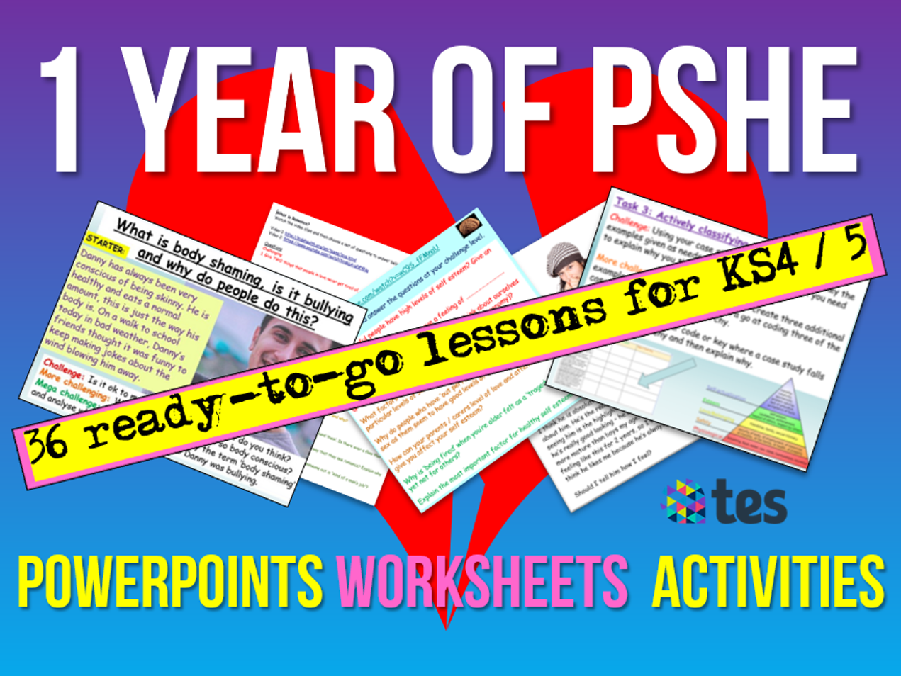 PSHE : One Year's KS4 / KS5 PSHE