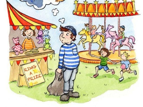 Bungling Bert At The Fair