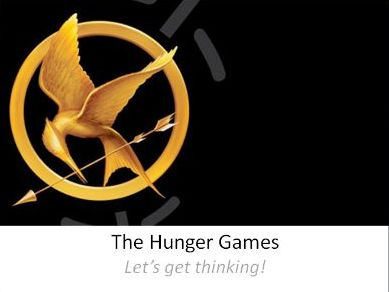 The Hunger Games - Thinking Prompts