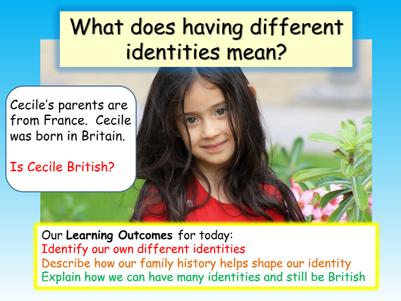 British Values : Identity