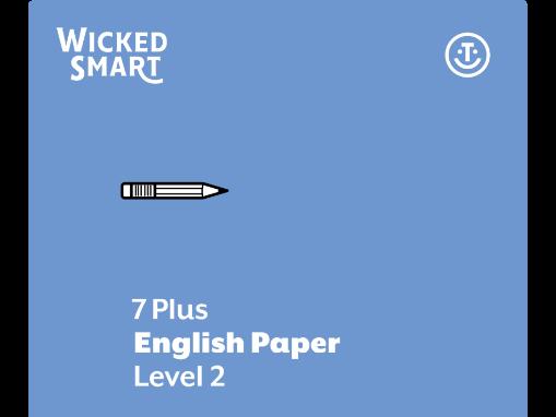 7+ English paper