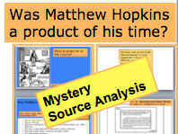 *FULL LESSON* Was Matthew Hopkins a Product of His Time? KS3 GCSE Crime and Punishment witchcraft