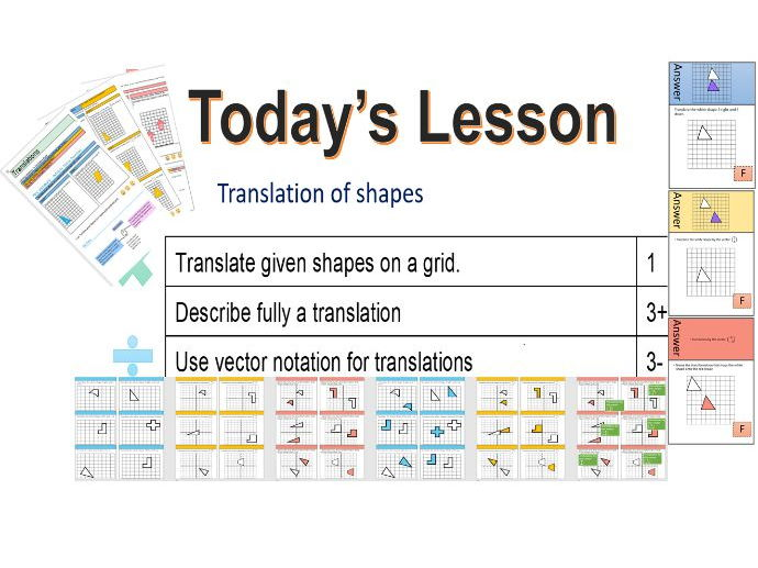 GCSE Translations whole lesson (powerpoint, worksheets, treasure hunt and assessment)