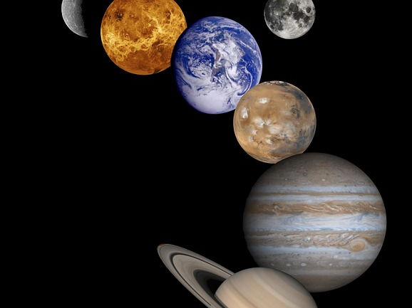 Junior Science -  Solar System Quiz with Quick Marking template