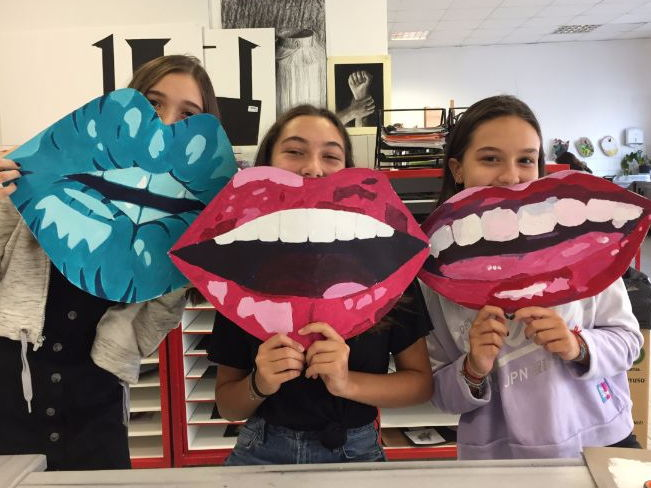 POP ART MOUTHS!