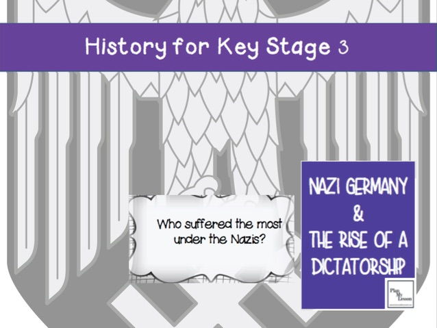 Nazi Germany & the Rise of a Dictatorship: Lesson 15 Who suffered the most under the Nazis, 1933-39?