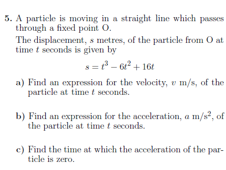 Calculus worksheet (with solutions)