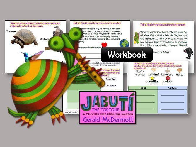 Jabuti the Tortoise Workbook