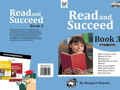Read and Succeed Book 3 - For ages 11 – 14 years