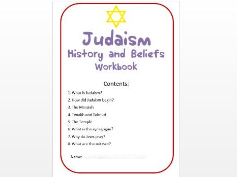Judaism: History and Beliefs Workbook: Low Ability