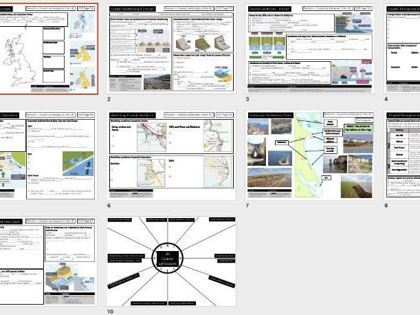 UK Coastal Landscapes - Revision Activities AQA GCSE Geography