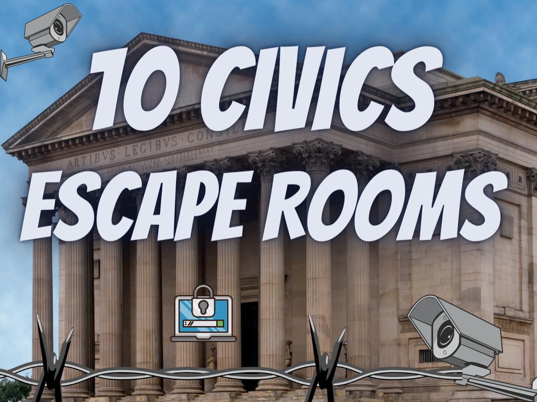 Citizenship Revision Escape Rooms