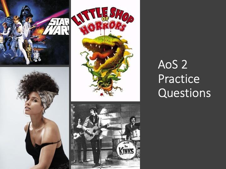 GCSE Music AoS 2 Revision questions