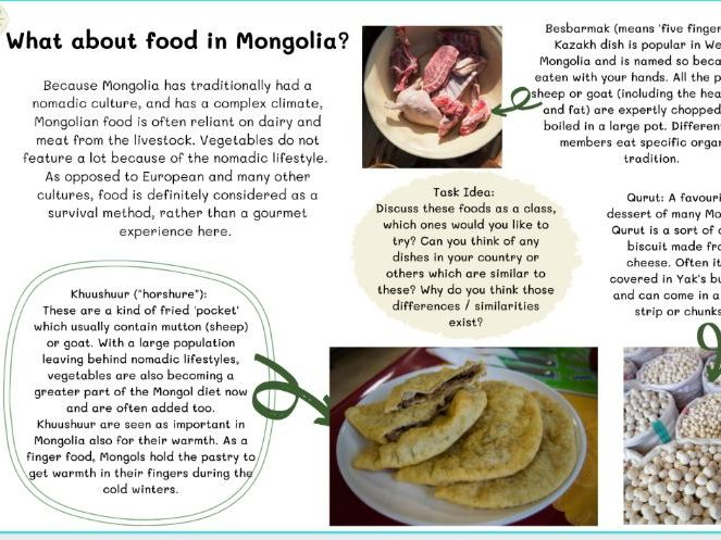 Geography country pack - Mongolia (pdf)