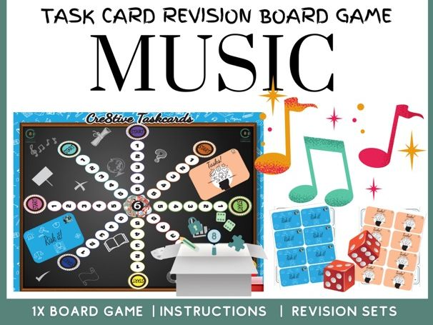 Music Revision Board Game