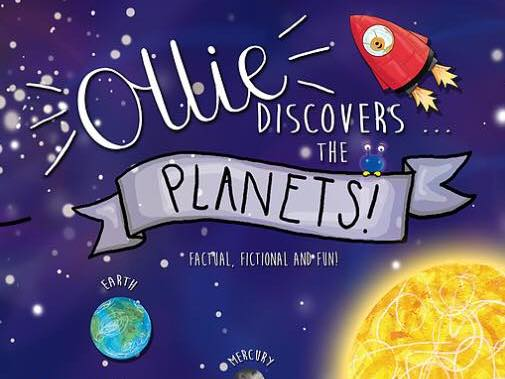 Ollie Discovers the Planets. Fact & fiction book and EYFS/Y1 plans. Ideal for the topic of space.