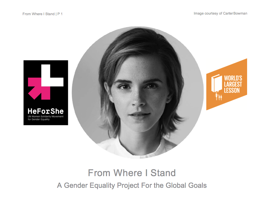 Gender Equality Lesson Plan with Emma Watson