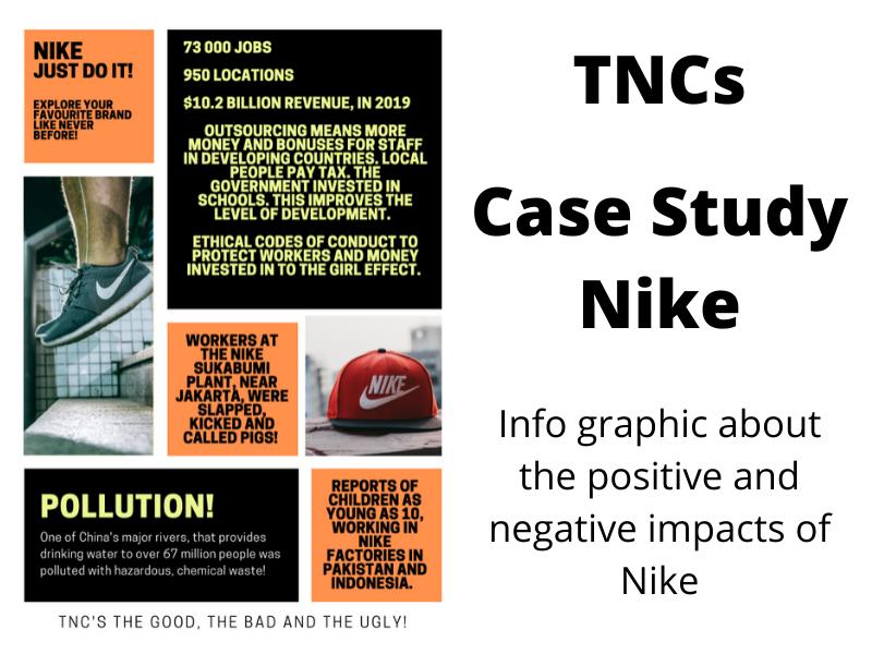 TNCs: A case study about Nike