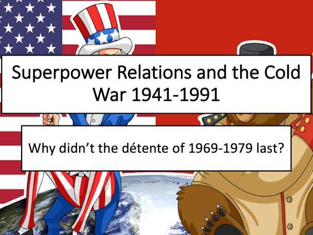 Soviet-Afghanistan War & Second Cold War