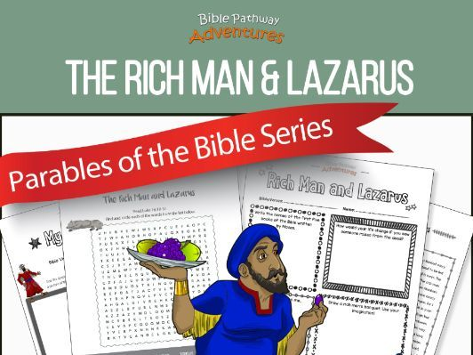 Bible Parable: The Rich Man and Lazarus