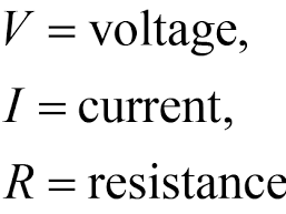 Electrical resistance, energy and power