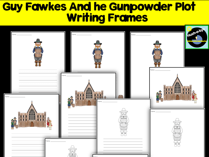 Guy Fawkes Writing Frames