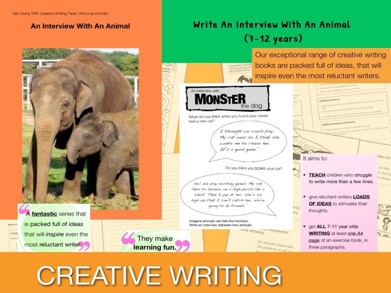 Write An Imaginary Interview With An Animal (7-13 years)