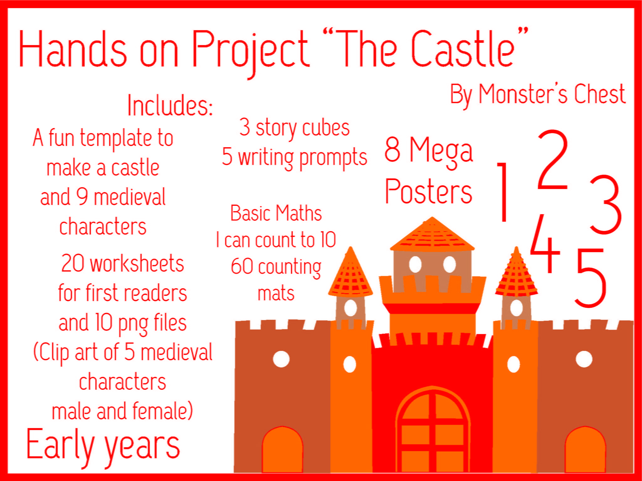 Hands on project The Castle BUNDLE