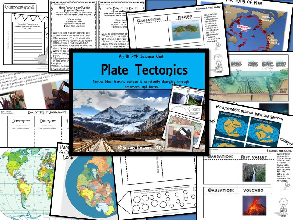 An Interactive Science Inquiry Plate Tectonics IB PYP