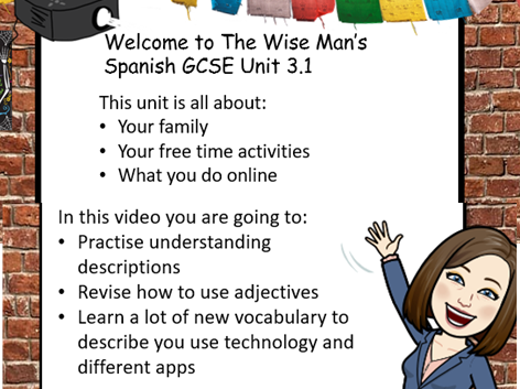 Spanish GCSE Worbook to complement start of Viva Chapter 3