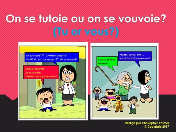French: Tu or vous?