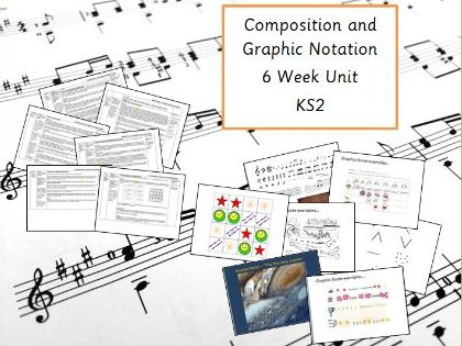 Composition and Graphic Notation - Music Planning for KS2
