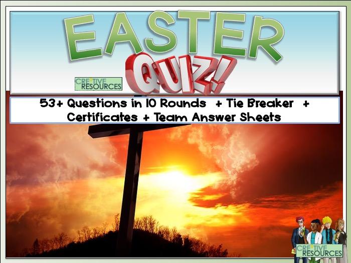Easter 2021 Quiz