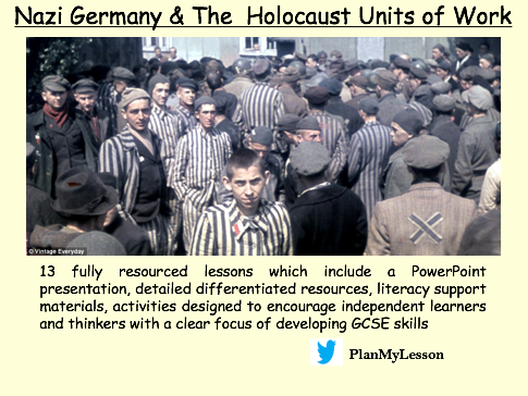 Nazi Germany & The Holocaust Units of Work