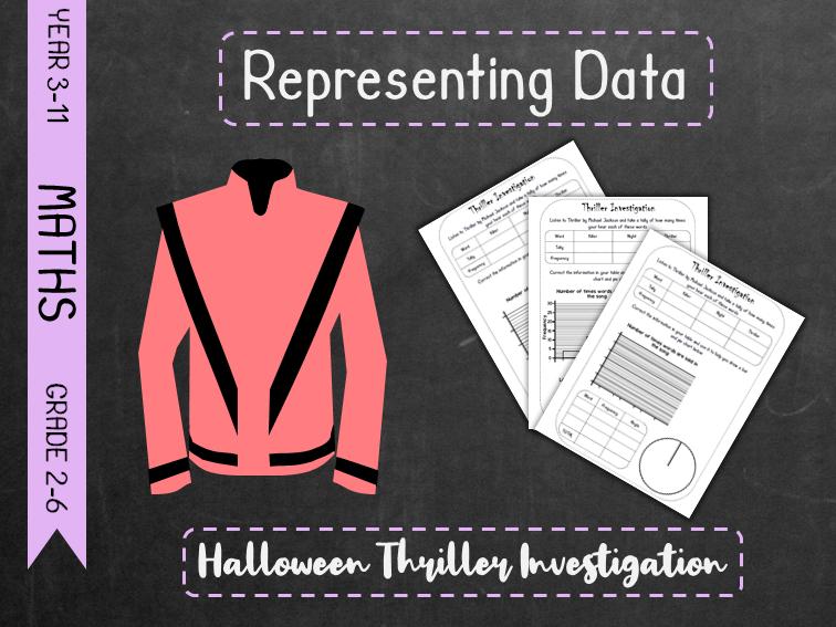 Representing Data - Halloween Thriller Investigation